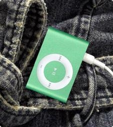 Buy iPod Shuffle 2GEN 1GB - Green at wholesale prices