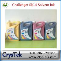 Quality Challenger SK4 solvent ink (5L packing) for sale