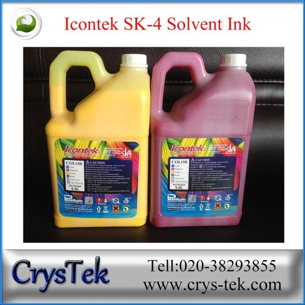 Buy Icontek SK4 solvent ink (New Gallon) at wholesale prices