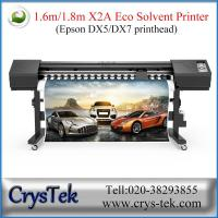 Quality CRYSTEK 1.6m X2A eco solvent printer for sale