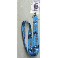 Quality The Smurfs Lanyard Keychain with Vertical Badge Holder for sale