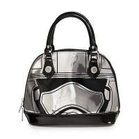 Quality STAR WARS Loungefly x Star Wars: The Force Awakens Captain Phasma Embossed Mini Dome Bag for sale