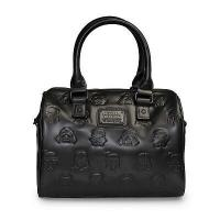 Quality STAR WARS Loungefly x Star Wars Black Dark Side Embossed Character Purse for sale