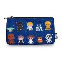 Quality STAR WARS Loungefly x Star Wars Multi Baby Characters Pouch for sale