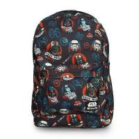 Quality STAR WARS Loungefly x Star Wars Dark Side Tattoo Backpack for sale