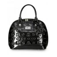 Quality STAR WARS STAR WARS DARTH VADER DARKSIDE PATENT EMBOSSED BAG BY LOUNGEFLY for sale
