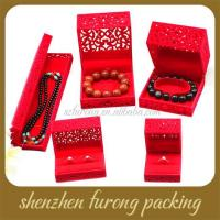 Quality Chinese style hollow out ring box stud earrings box for sale