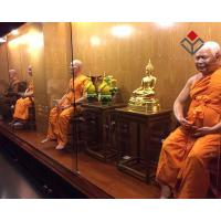 Quality Religious Man Wax Figure Buddha Statues for sale