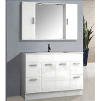 White bathroom floor cabinets quality white bathroom for White cabinets for sale