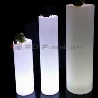 Quality Tall led cylinder/pillar light for sale