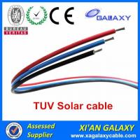 Quality China Tinned Copper Conductor XLPE Insulation & Sheath TUV Solar Cable 4mm2 for sale