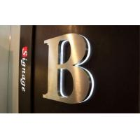 Quality Acrylic Metal Reverse Lit LED Channel Letter Sign for sale