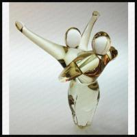 Buy cheap Art Glass Abstract Figures Trophy from wholesalers
