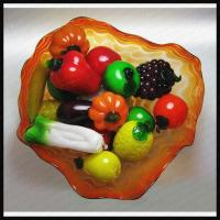 Glass fruits and vegetables quality glass fruits and vegetables for