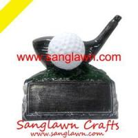 China S3049 Golf gifts Metal Crafts on sale