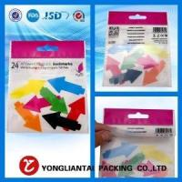 Polybag with header card packaging,polybag with header wholesale- header bag-1212