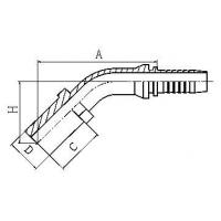 45Metric DIN2353 card sets of straight pipe