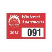Buy cheap Featured Products Parking Permit Decal from wholesalers