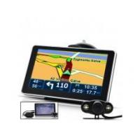 6 Inch Touchscreen GPS Navigator with Wireless Rear View Camera