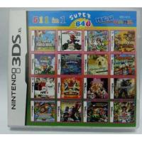 China WholeSale 3Pieces/Lot, 511-in-1 Super Game Card 64GB Multi Games Card for Nintendo DS on sale
