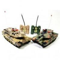 Quality Flashing Infrared Remote control Battle Tank 2 Set for sale