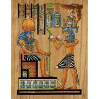 Quality Papyrus Offering to Horus for sale