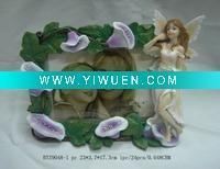 China Artificial Crafts(970) photo frame with beautiful nude girls angels for home decor on sale