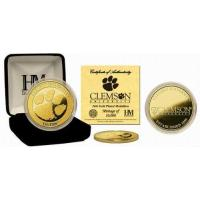Quality Clemson University 24KT Gold Coin for sale