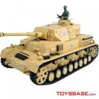 China Heng Long RC Model Tank - Panzer IV 1:16 Electric RC Tank with BB Bullets 3859 on sale