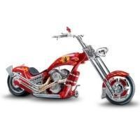 Buy Firefighter Tribute Motorcycle Figurine: Smokin ChopperModel # CT104936001 at wholesale prices