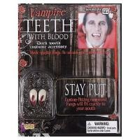 Quality Vampire Teeth with Blood for sale