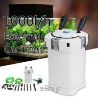 China 1000L/H 4 Stage Aquarium External Canister Filter Fish Tank Pump Water Hose on sale
