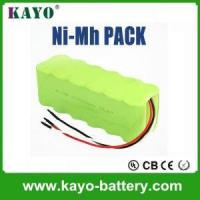 Quality Rc Car Battery Nimh Rechargeable Battery Packs 9.6v AA 1800mAh for sale