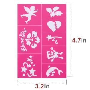 Buy Easy to Stick Down Face Paint Stencils Kit at wholesale prices