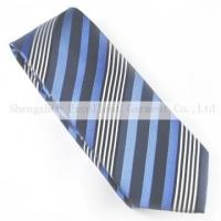Quality Polyester products Polyester necktie P61123LB for sale