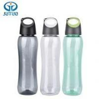Promotional 550ml outdoor sport clear plastic drinking bottles with carabiner