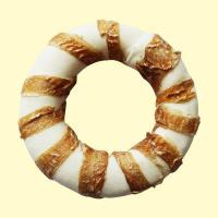 Buy cheap Dog chews wrap chicken series Expanded rawhide ring wrap chicken from wholesalers
