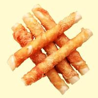Buy cheap Dog chews wrap chicken series Natural roll filled tripe wrap chicken from wholesalers