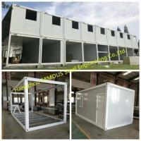 China Custom Living Container House Dormitory for Prefab Mobile Homes on sale