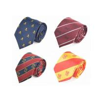 Quality Necktie All Over Logo Company Tie for sale