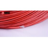 Quality 40/0.25 silicone rubber high temp wire for sale