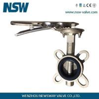Quality Stainless Steel Butterfly Valve Rubber Seat for sale