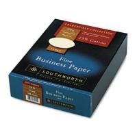 Quality 25% Cotton Business Paper, Ivory, 24 Lbs., Wove, 8-1/2 X 11, 500box, Fsc for sale