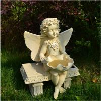 China craft and craft Polyresin Outdoor Garden Angel Statue on sale