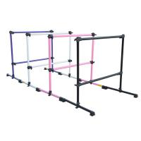 Quality Prodigy Series Portable Double Freestanding Ballet Barre, Stretch/Dance Bar for sale