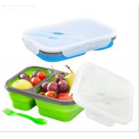 Quality BFL-102 Silicone Collapsible Lunch Box for sale