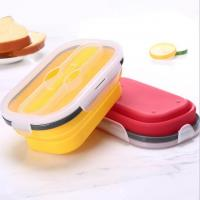 Quality BFL-103 Silicone Collapsible Lunch Box for sale
