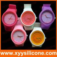 silicone decoration  Products  Slicone Sports Watch
