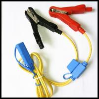 Buy cheap car battery charger cable alligator clips to sae plug with fuse box from wholesalers
