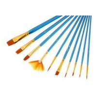 Buy cheap Painting brush 10pcs different shape paint brushes art set from wholesalers
